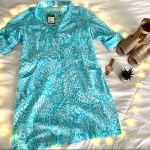 NWT Lilly Pulitzer Smock Dress